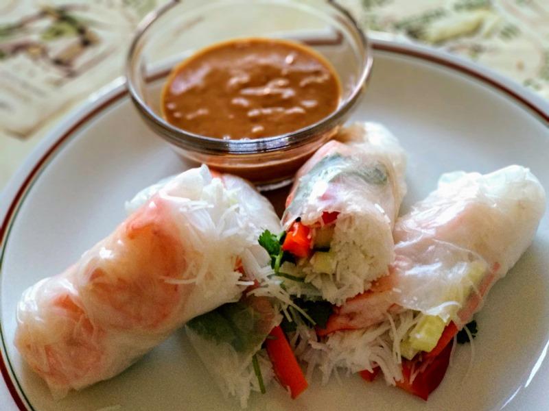 Spring-rolls-shrimps